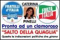 CATERINA PINELLI PRONTA PER IL TRASFERIMENTO A FORZA ITALIA?